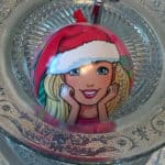 Barbie Weihnachtskugel