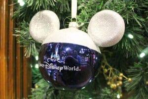 Blaue Disney Weihnachtskugel