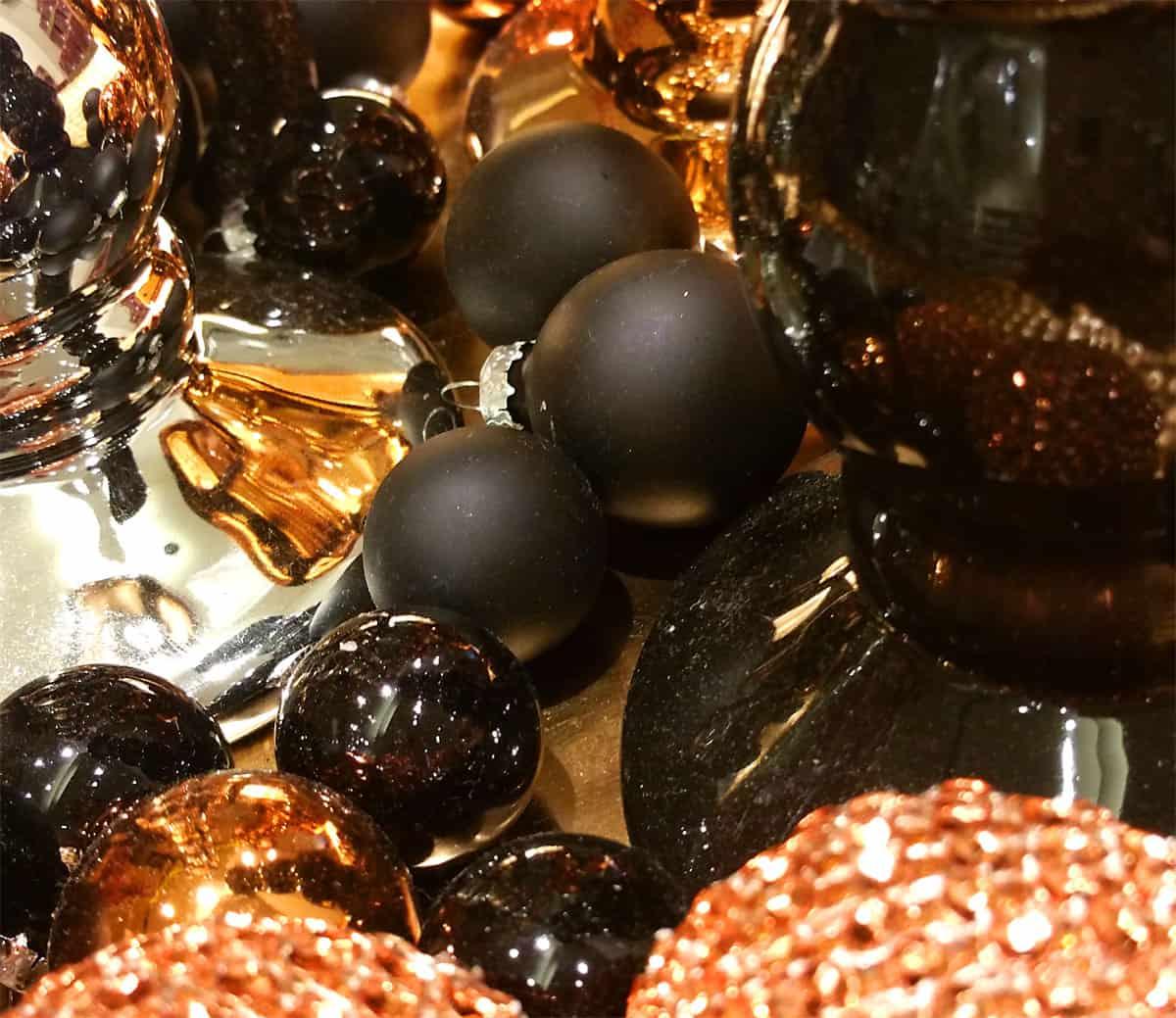 Mini Christbaumkugeln.Weihnachtskugeln Mini Christbaumkugeln