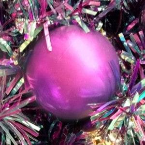 Weihnachtskugeln Pink - Christbaumkugeln