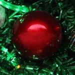 Weihnachtskugeln Rot