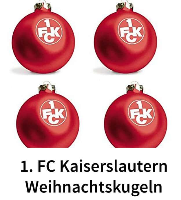 1 fc kaiserslautern weihnachtskugeln christbaumkugeln - Weihnachtskugeln durchsichtig ...