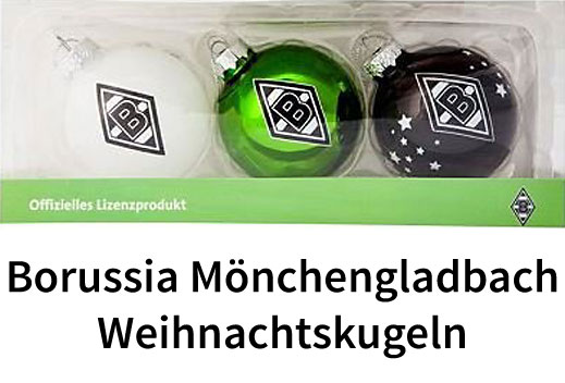 Borussia m nchengladbach weihnachtskugeln - Weihnachtskugeln cappuccino ...