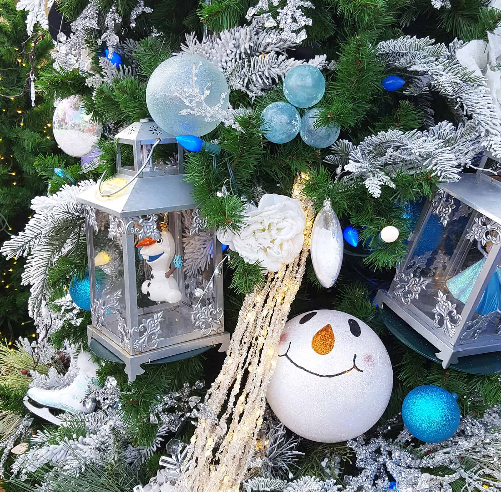 Transparente Christbaumkugeln.Weihnachtskugeln Die Eiskönigin Völlig Unverfroren