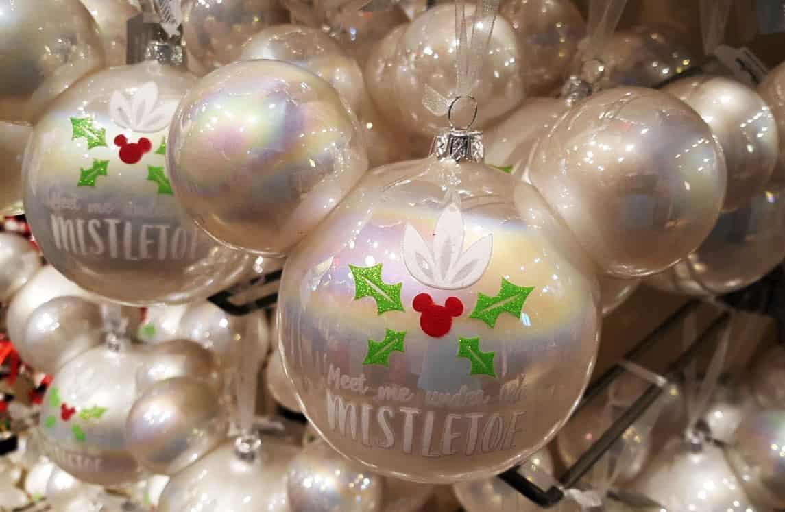 Weihnachtskugeln Creme Elegante Christbaumkugeln