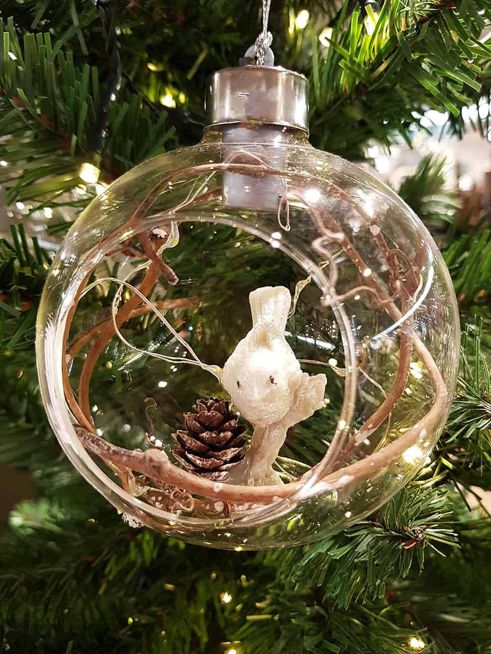 Weihnachtskugeln villeroy boch f r die sinnliche weihnachtszeit - Durchsichtige weihnachtskugeln ...
