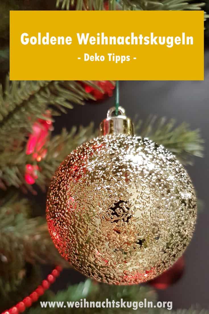weihnachtskugeln gold f r einen pr chtigen weihnachtsbaum. Black Bedroom Furniture Sets. Home Design Ideas