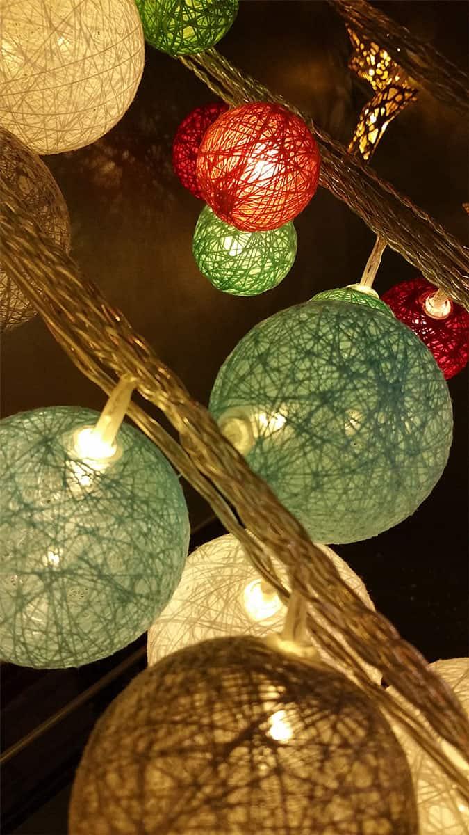 Weihnachtskugeln led christbaumkugeln - Weihnachtskugeln cappuccino ...