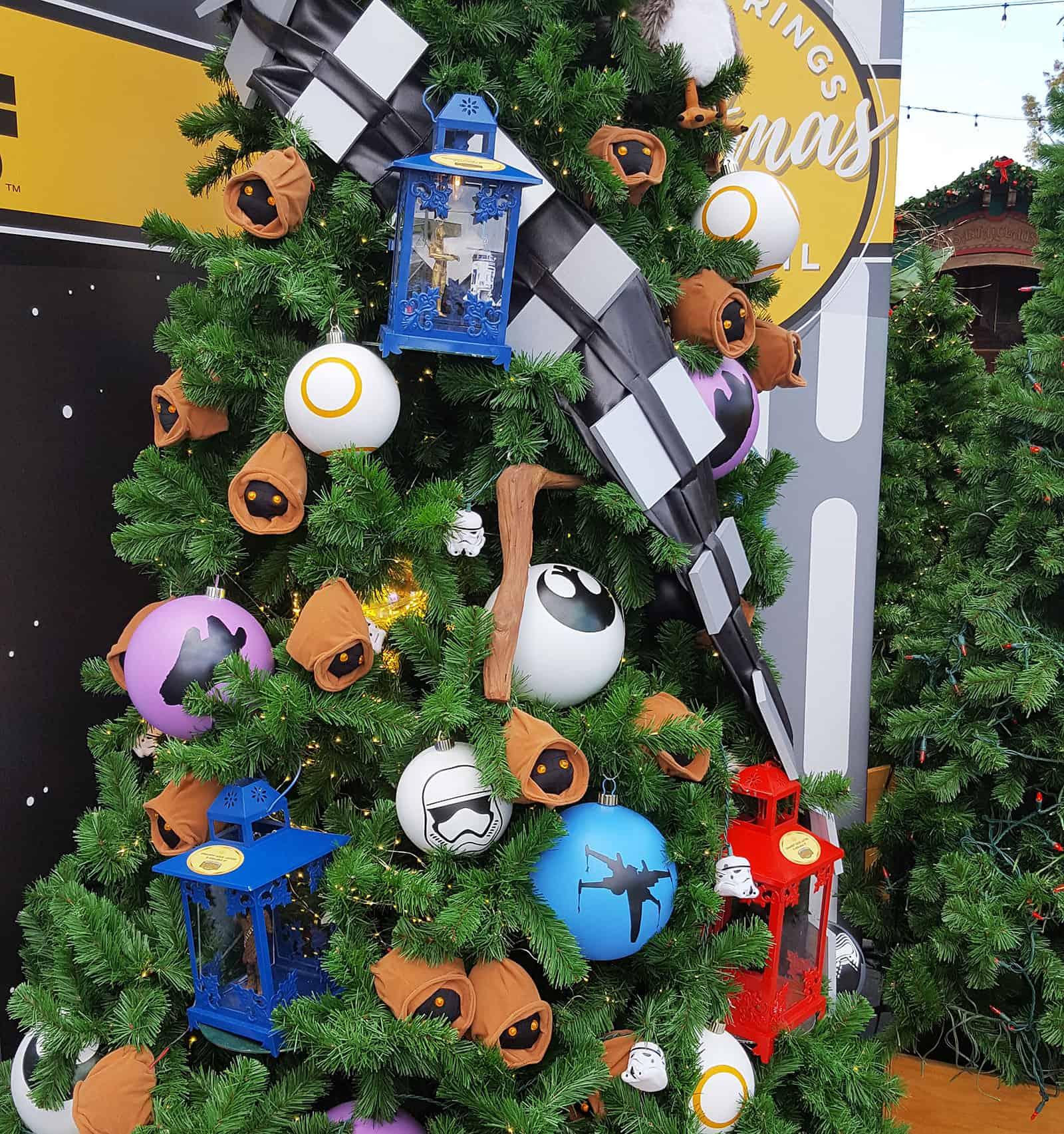 Weihnachtskugeln star wars christbaumschmuck mit star wars motiven - Star wars weihnachtsbaum ...