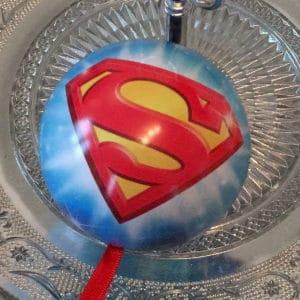 Superman Weihnachtskugel