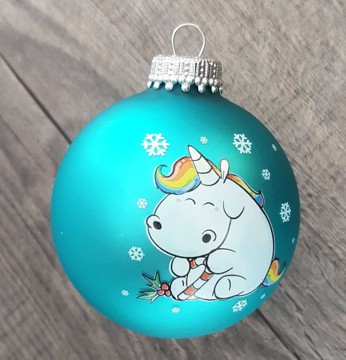 Jetzt weihnachtskugeln einhorn spielend leicht online bestellen - Weihnachtskugeln durchsichtig ...