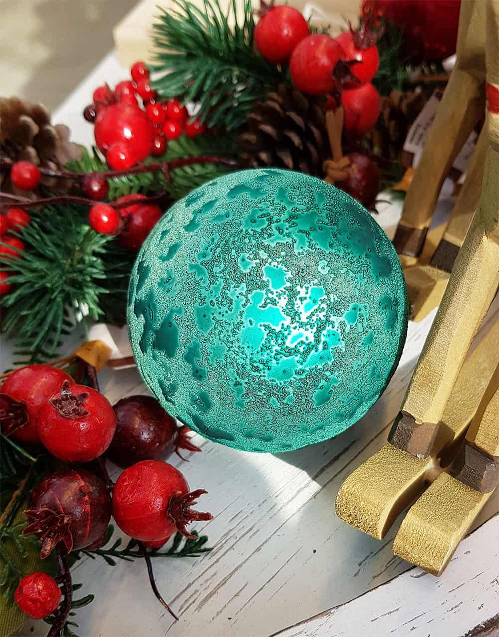 Christbaumkugeln Türkis Glas.Weihnachtskugeln Türkis Christbaumkugeln