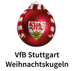 VfB Stuttgart-Weihnachtskugeln