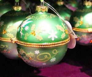 Weihnachtskugel - 6 cm groß