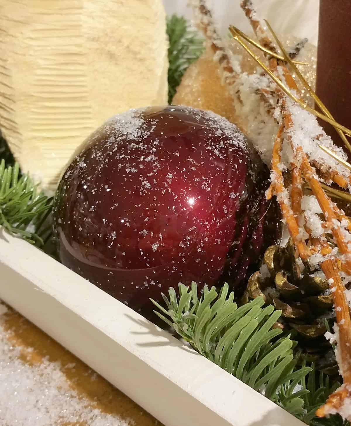 weihnachtskugeln aufbewahrungsbox christbaumkugeln. Black Bedroom Furniture Sets. Home Design Ideas