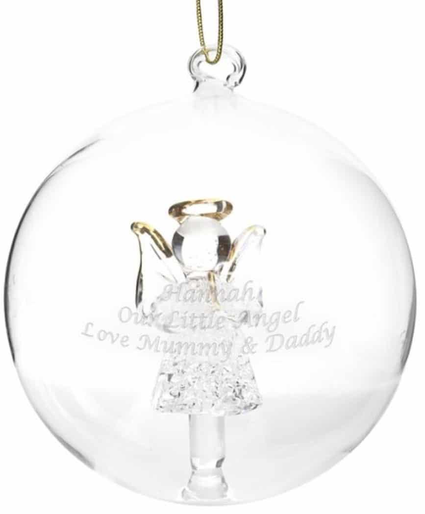 Ikea Weihnachten Christbaumkugel Dekokugel Aus Glas Gold: Weihnachtskugeln Mit Gravur